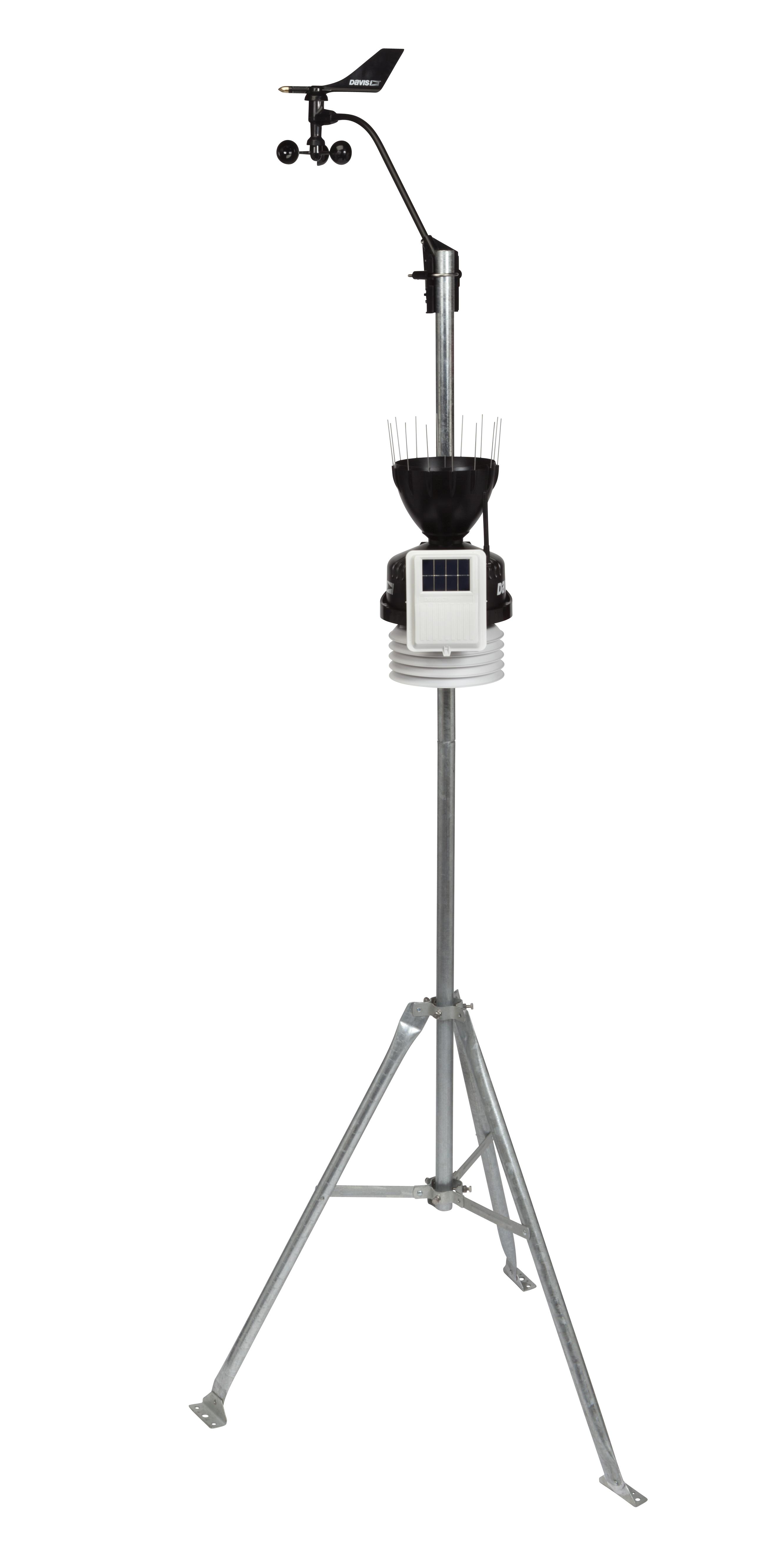 davis instruments 6152 wireless vantage pro2 with standard radiation shield