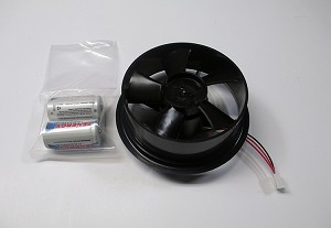 7758B Motor Kit for Fan-Aspirated Radiation Shield, with batteries