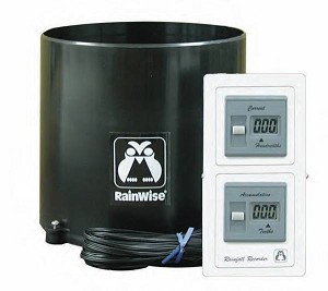 RAINEW 211 Dual Counter Wired Rain Gauge