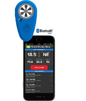 WeatherFlow WEATHERmeter Wireless Bluetooth WEATHER Meter